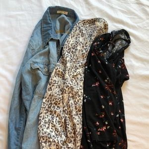 Bundle of 3 Maurices Tops size Large